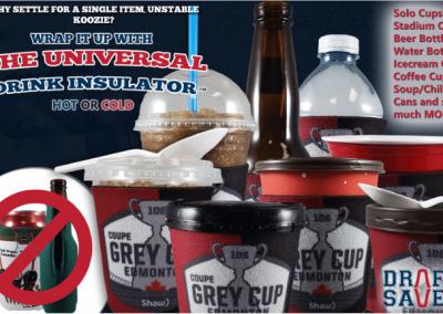 The Universal Drink Insulator